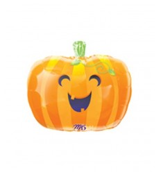 Halloween souriant citrouille ballon 11450 New Bama Party- Futurartshop.com