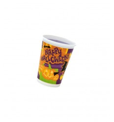 Blister 10 vasos plástico feliz halloween D36HL Magic World Party- Futurartshop.com