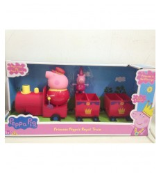Peppa pig Princess with Royal train CCP05870 Giochi Preziosi- Futurartshop.com