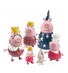 Peppa Pig Royal Family CCP05867 Giochi Preziosi- Futurartshop.com