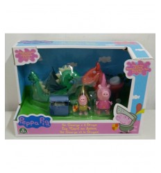 Peppa pig george Princess and the Dragon and the treasure CCP05869 Giochi Preziosi- Futurartshop.com
