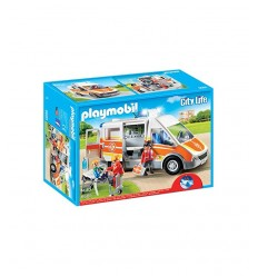 Ambulance with lights and sounds 6685 Playmobil- Futurartshop.com
