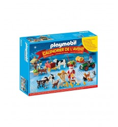 Playmobil Адвент календарь Рождество фермы 6624 Playmobil- Futurartshop.com