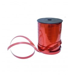 Metallic ribbon 10 mm red 250 metres NM1025-02 - Futurartshop.com