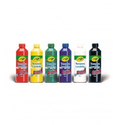 La Tempera machine pack de 6 couleurs différentes 78965 Crayola- Futurartshop.com