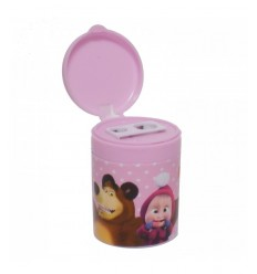 Pencil Sharpener with masha and pink bear 154461/5 Accademia- Futurartshop.com