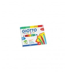 Marqueurs de Giotto turbo big 12 PCs 454000