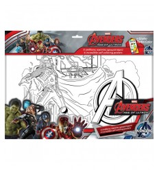 Album 6 avengers giotto color prints DIS-500636 Grandi giochi- Futurartshop.com