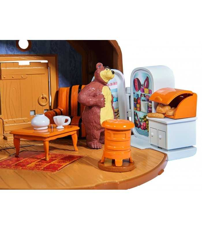 masha bear house playset with character bear simba toys. Black Bedroom Furniture Sets. Home Design Ideas