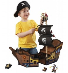 pirate en bois galion 63262 - Futurartshop.com