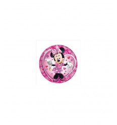 Minnie 8 piatti 23 centimetri BIM0004567 New Bama Party-Futurartshop.com