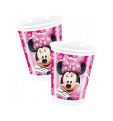 8 verres Minnie fashion BIM0004568 New Bama Party- Futurartshop.com