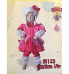 costume gattina vip hello kitty 6 mesi N173 -Futurartshop.com