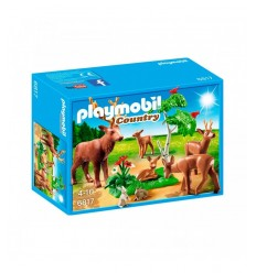 Playmobil deer herd with puppies and hares 6817 Playmobil- Futurartshop.com