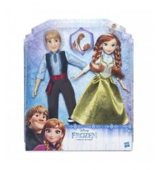 (frozen) fashion 2 personaggi anna e kristoff B5168EU40 Hasbro-Futurartshop.com