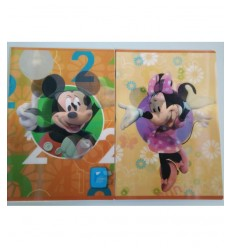 Lenticular quadernone Mickey and minnie rigo 5 mm 78657 Dedit- Futurartshop.com