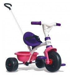 Triciclo Be Move Pop rosa e viola 7600444238 Smoby-Futurartshop.com