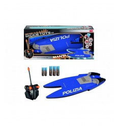 Manta-Polizei-Radio-Kontrolle-Speed-Boot 201119419010 Simba Toys- Futurartshop.com