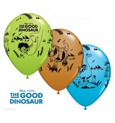 blister de 10 ballons le dinosaure bon FBD023 Magic World Party- Futurartshop.com