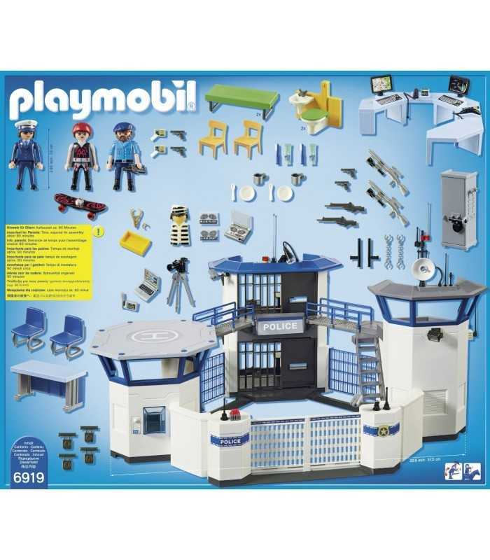 playmobil police station with prison 6919 playmobil futurartshopcom - Playmobile Police