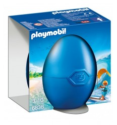 PLAYMOBIL oeufs avec surfeur et pension 6838 Playmobil- Futurartshop.com