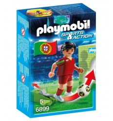 PLAYMOBIL joueur de Portugal 6899 Playmobil- Futurartshop.com