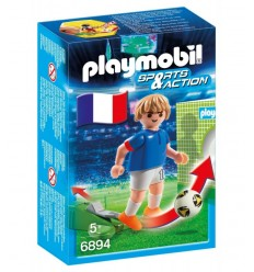 PLAYMOBIL joueur France 6894 Playmobil- Futurartshop.com