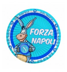 8 plates 18 cm of napoli soccer 0004842 New Bama Party- Futurartshop.com