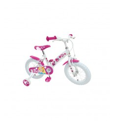 Blanco bicicleta barbie 14 CB900368SE Stamp- Futurartshop.com
