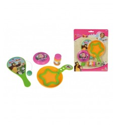 Set Bolle Di Sapone 30 Ml, Paddle Ball E Mini Frisbee 109303187 Simba Toys-Futurartshop.com