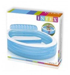 piscina family con poltrona 57190 Intex-Futurartshop.com