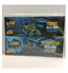 Invitations Batman aux parties 160646 Accademia- Futurartshop.com