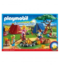 Playmobil 6888- falò con tende 6888 Playmobil-Futurartshop.com