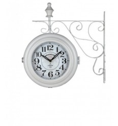 White flags clock 14753 Lowell- Futurartshop.com
