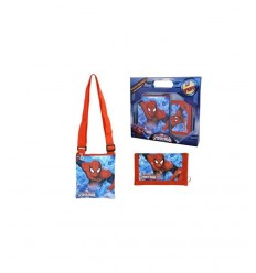 Shoulder bag and wallet set Spider man GIA0004944 - Futurartshop.com