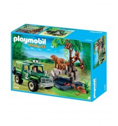Playmobil 5416-off-road trips with Tigers and Ostrich 5416 Playmobil- Futurartshop.com