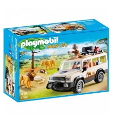 off-road in the Savannah with Lions 6798 Playmobil- Futurartshop.com