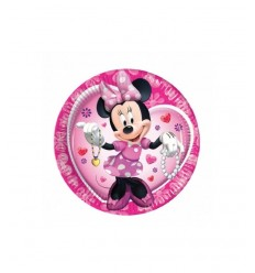 platos de 23 cm 10 minnie Mouse Clubhouse 175596 - Futurartshop.com