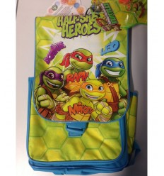 zaino superstar turtles con blister con personaggi TU914000 Giochi Preziosi-Futurartshop.com