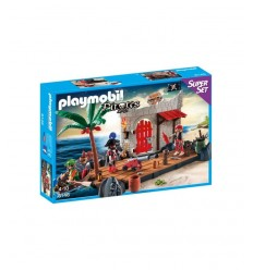 Playmobil-pirata Fort Super Set 6146 Playmobil-Futurartshop.com