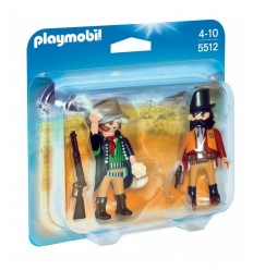 Personaggio duo pack sceriffo e bandito 5512 Playmobil-Futurartshop.com