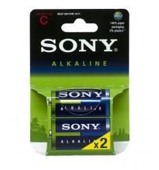 Antorchas media Sony 2 alcalina AM2E2X AM2E2X Sony- Futurartshop.com