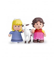 Mini tecken i tube heidi clara och pet goat 700012779/21230 Famosa- Futurartshop.com