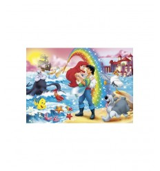 Maxi Puzzle Clementoni 24431-Little Mermaid Rainbow, 24 piezas 24431 Clementoni- Futurartshop.com