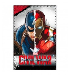 Plaid Capitan America Civil War 150x100 centimetri 2200001651 Cerdà-Futurartshop.com