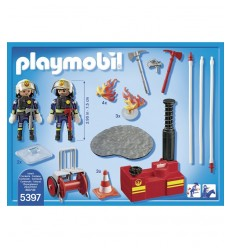 PLAYMOBIL pompiers tutoriel 5397 Playmobil- Futurartshop.com