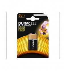 Duracell 9v Plus Power Duracell-Futurartshop.com