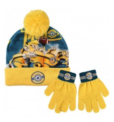 minions winter hat and mittens set 2200001763 Cerdà- Futurartshop.com