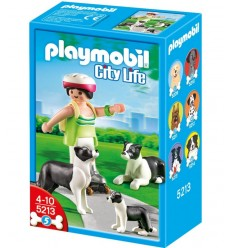 5213-Playmobil family of Border Collies 5213 Playmobil- Futurartshop.com