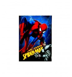 plaid spiderman 150 x 120 centimetri DIS-532431 Grandi giochi-Futurartshop.com
